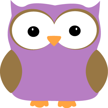 purple owl teacher clipart rh worldartsme com Purple Owl Birthday Clip Art Purple Owl with Books Clip Art