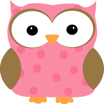 Pink Polka Dot Border Clip Art Pink polka dot owl clip art