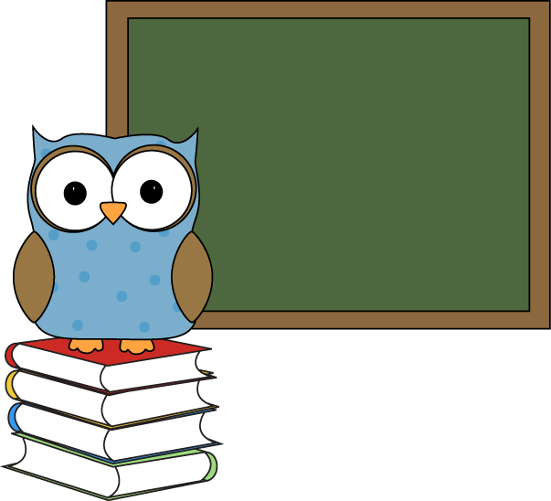 Polka Dot Owl with Chalkboard