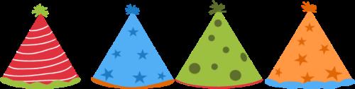 Party Hats Clip Art Image