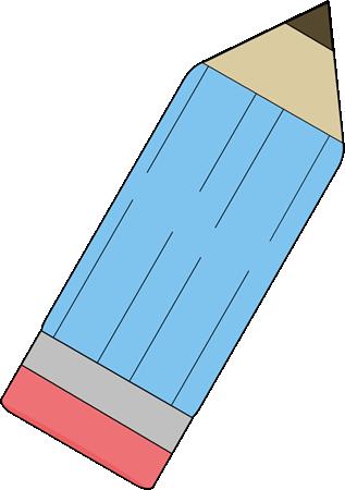 Upside Down Blue Pencil