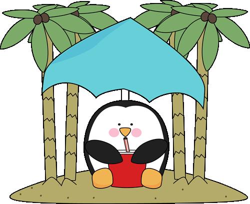 Penguin on an Island