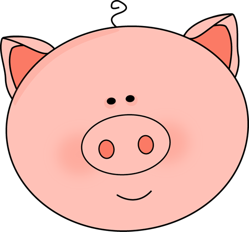 Clipart Pig Face Clipart Library