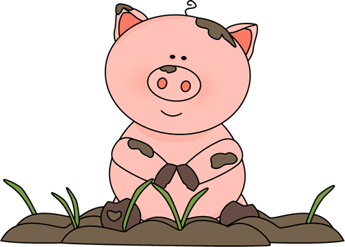 Pig in Mud Clip Art http://www.mycutegraphics.com/graphics/pig/pig-in-the-mud.html