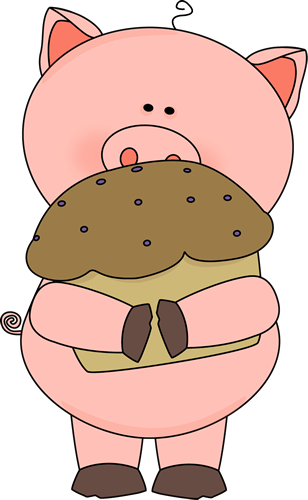 Pig with a Muffin