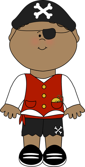 Pirate Kid Clip Art - Pirate Kid Image