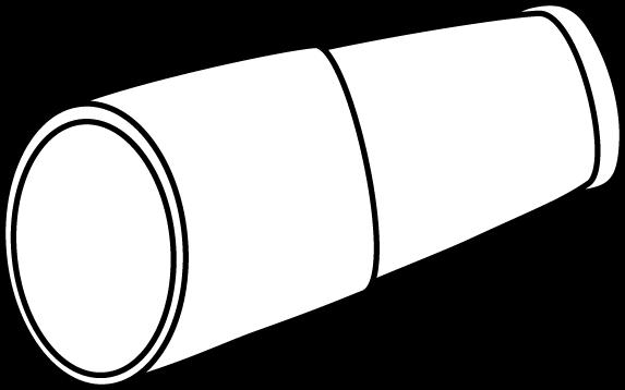 Black and White Pirate Telescope