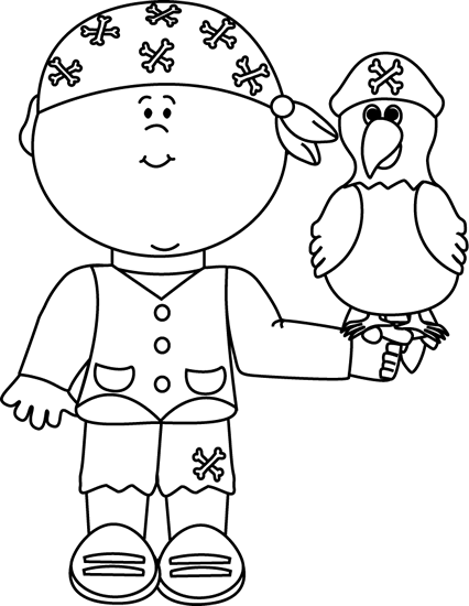 Pirate ship clip art black and white - photo#16