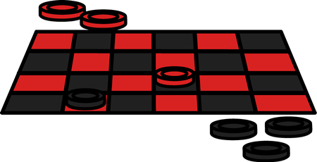Checker Game Clip Art