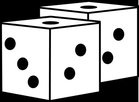 Game Dice Clip Art