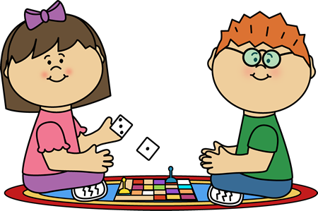 Kids Board GameClip Art - Kids Board Game Image