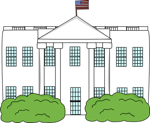 Clip Art White House Clipart white house clip art image illustration of the house