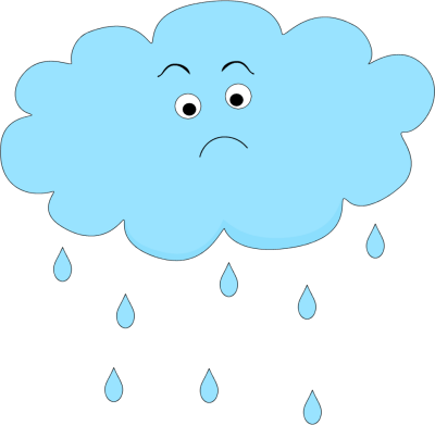 Sad Rain Cloud