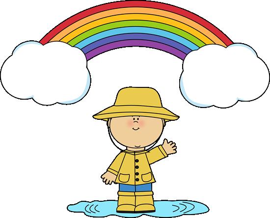 Little Boy and Rainbow