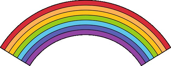 Clip Art Clip Art Rainbow rainbow clip art images black outline rainbow
