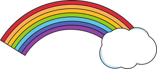 Clip Art Clip Art Rainbow rainbow clip art images with a cloud