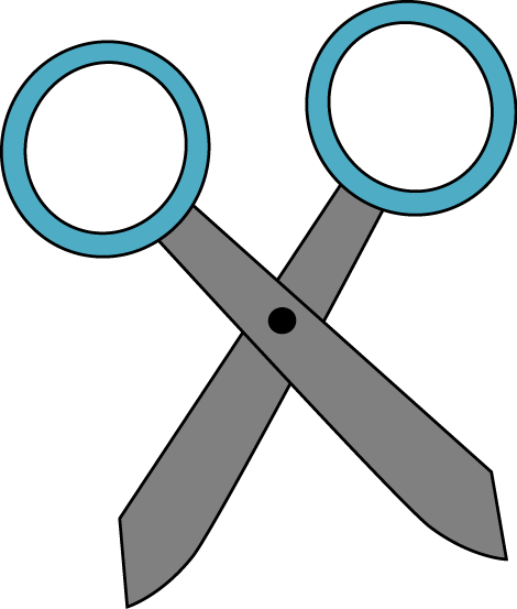 Blue Scissors