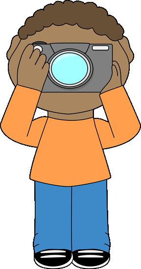 Boy Class Photographer Clip Art