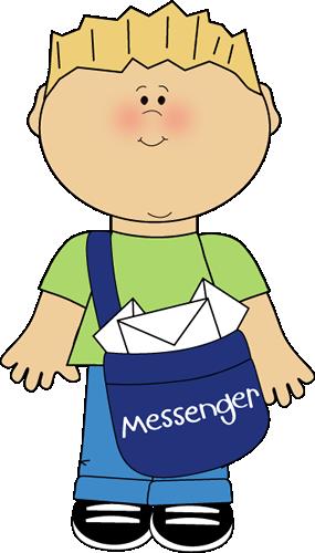 Classroom Messenger Clip Art