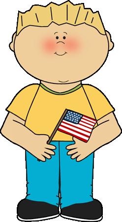 Flag Holder Clip Art