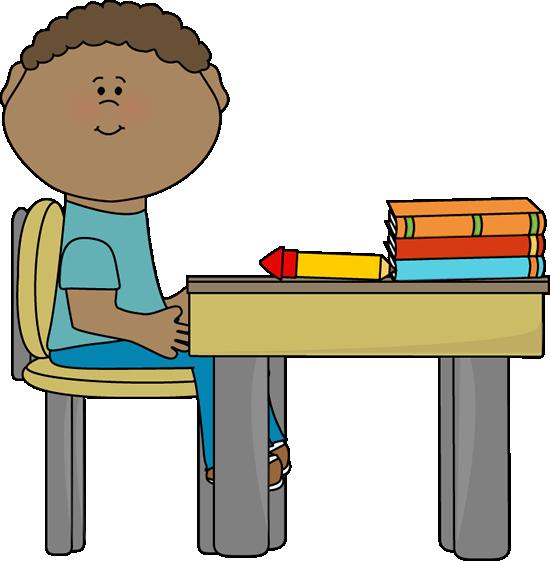 Boy in School
