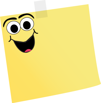 Cartoon Sticky Note