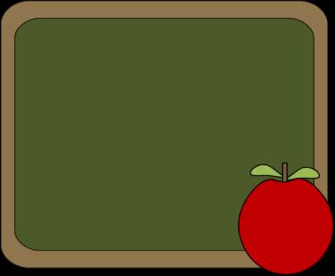 Clip Art Chalkboard Clip Art chalkboard and apple clip art image