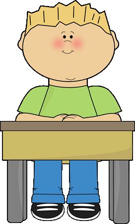 student sitting at school desk card clip art student sitting at rh mycutegraphics com student desk clipart free student working at desk clipart