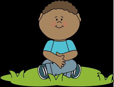 Child Sitting Clipart - Clip Arts Galleries