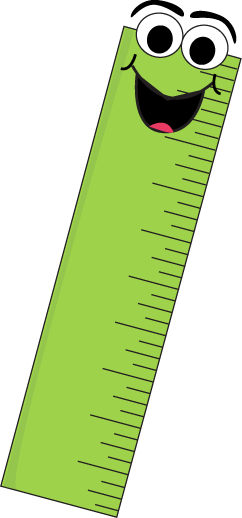 Green Cartoon Ruler