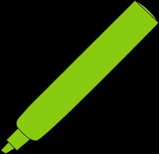 Green Highlighter