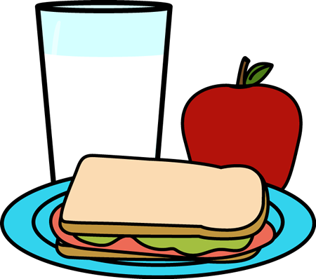 Healthy School Lunch Clip Art - Healthy School Lunch Image