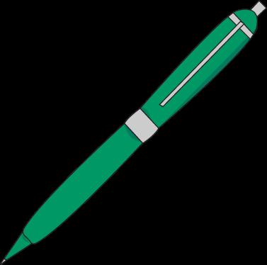Ink Pen Clip Art - Ink Pen Vector Image