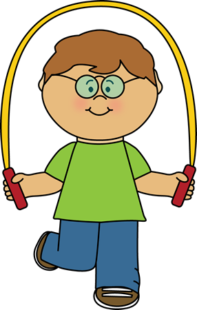 kid playing with a jump rope clip art kid playing with a jump rh mycutegraphics com clipart rope circle rope border clipart