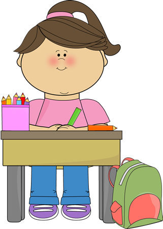 kid doing school work clip art kid doing school work vector image rh mycutegraphics com clipart of school work school work clipart black and white
