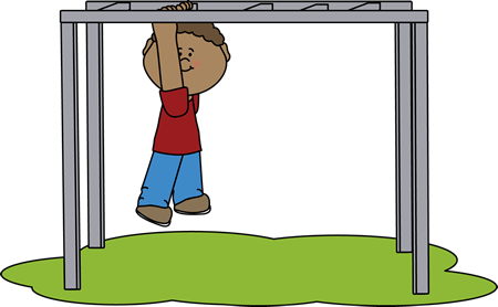 Kid on the monkey bars clip art kid on the monkey bars image - Picture of bars ...