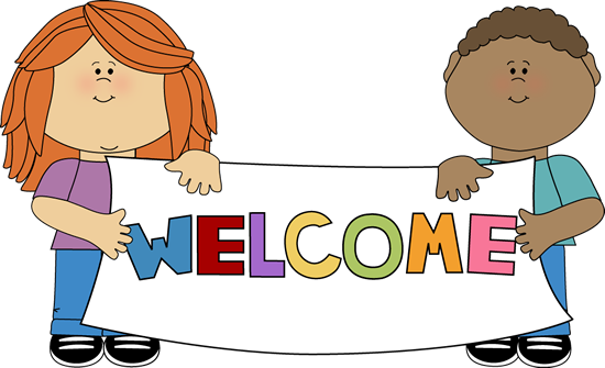 Kids Holding a Welcome Sign