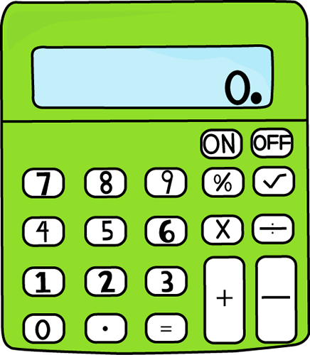 Lime Green Calculator
