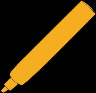 Orange Highlighter