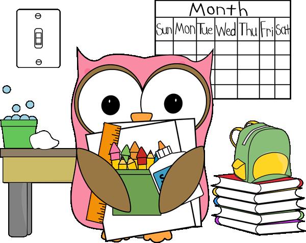 Calendar Illustration Job : Classroom job clip art images vector
