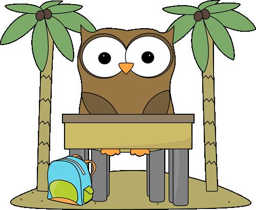 Owl Classrom Job Vacation Clip Art