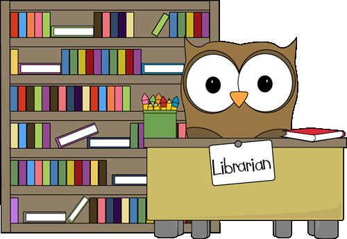 Owl Classroom Librarian Clip Art
