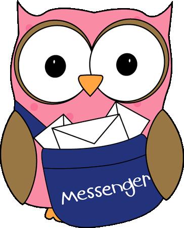 Owl Classroom Messenger Clip Art