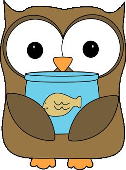 Owl Classroom Pet Helper Clip Art
