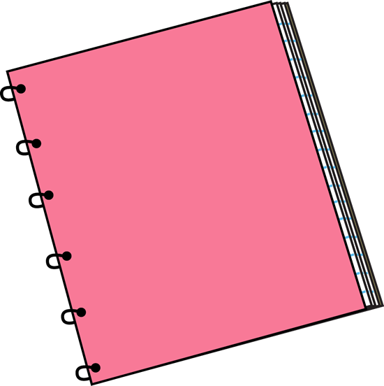 Pink Spiral Notebook