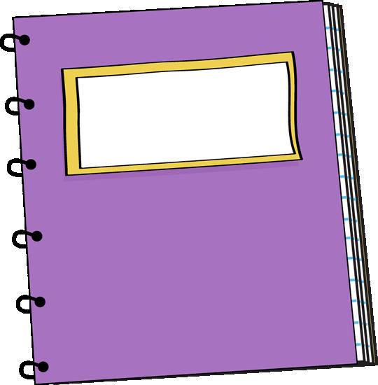 Purple Spiral Notebook