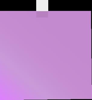 Purple Sticky Note