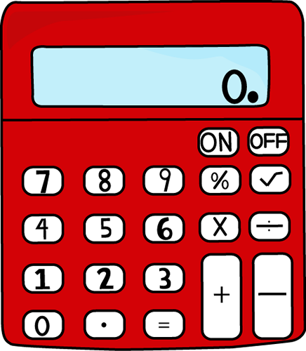 Clip Art Calculator Clip Art red calculator clip art vector image calculator