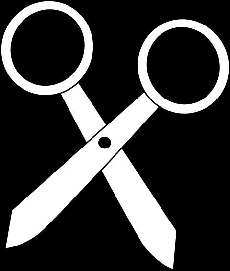Black and White Scissors