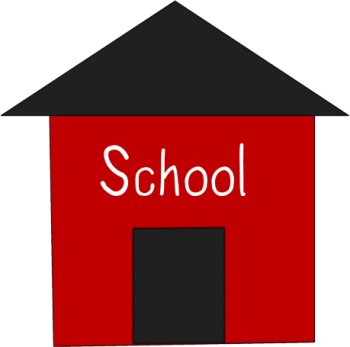 Simple Red School House
